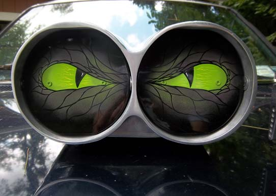 Angry eyes