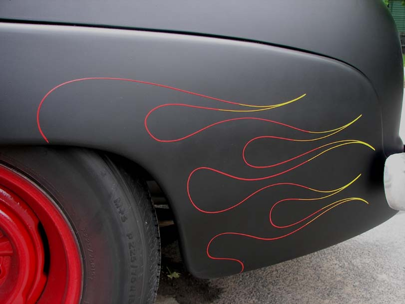 Car Repair Estimate >> Flames! - Rochester Pinstriping