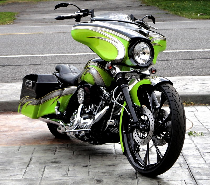 Built by Addiction Baggers: Paint by Brent Sadler