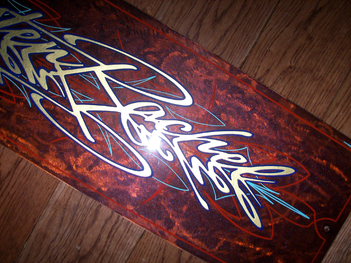 Gold Leaf Rochester Pinstriping